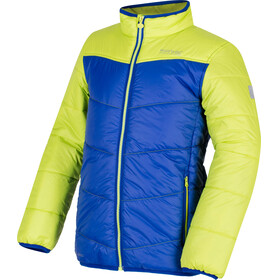 Regatta Icebound III Jacket Kids Surf Spray/Lime Zest